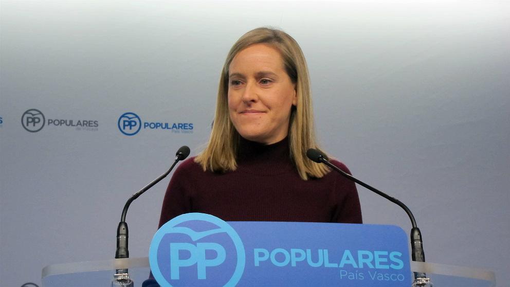 Amaya Fernández, secretaria general del PP en el País Vasco. (Foto: Europa Press)
