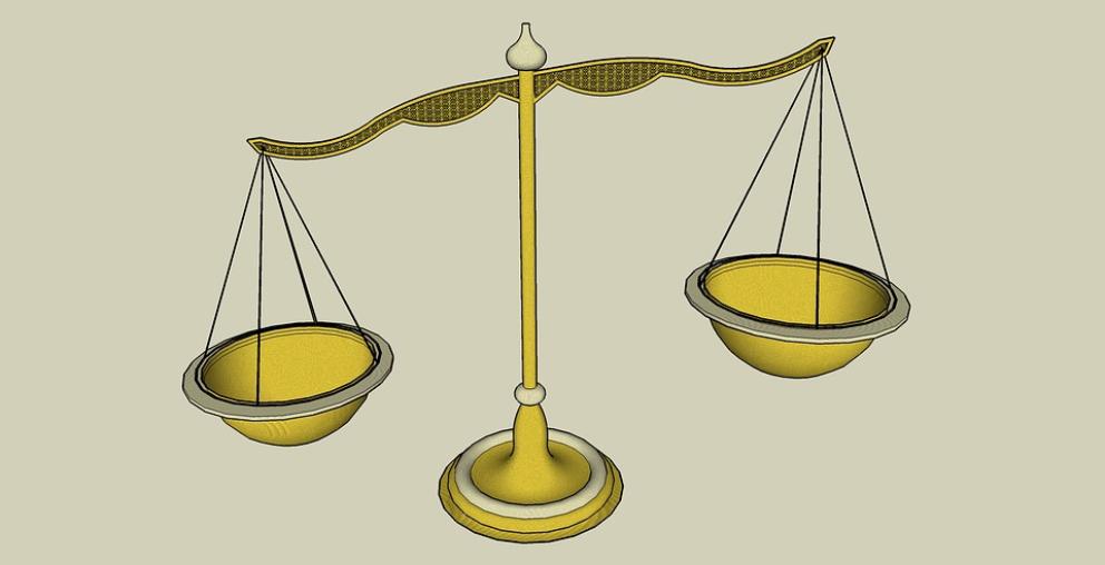 La balanza de justicia, todo un símbolo.