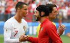 """Amrabat: """"El árbitro le pidió a camiseta a Cristiano y esto no es un circo"""""""