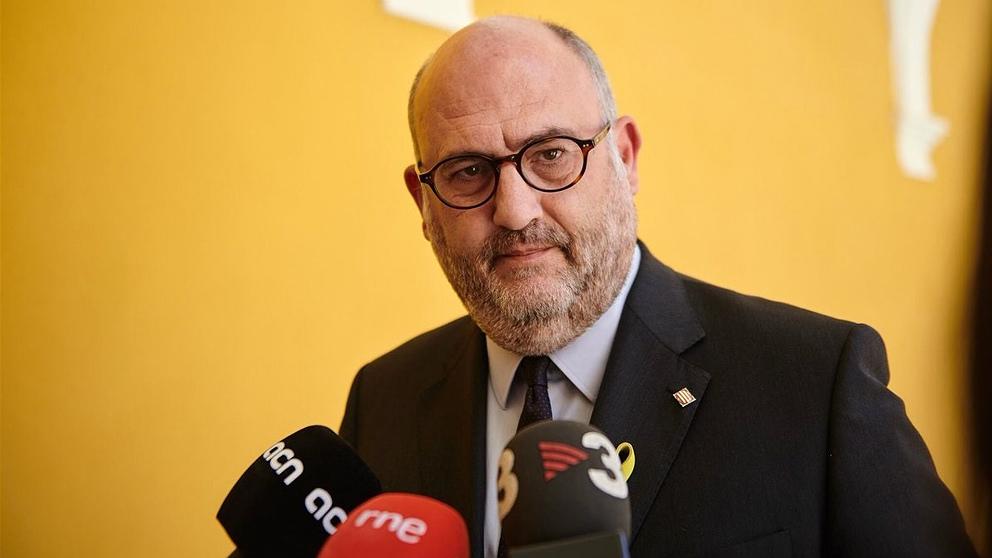Eduard Pujol, portavoz de JxCat en el Parlament. (EP)