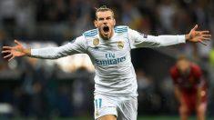 Gareth Bale celebra un gol en la final de la Champions. (Getty)