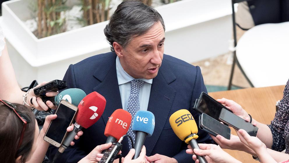 José Ramón García Hernández, portavoz de Exteriores del PP (EFE).