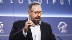 Juan Carlos Girauta, ex portavoz de Ciudadanos en el Congreso de los Diputados. (Foto: Europa Press)