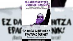 Cartel de convocatoria de la marcha contra el auto de libertad de los condenados de 'La Manada'. | Sentencia La Manada