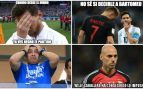 Los mejores memes del Argentina – Croacia