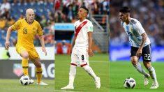 Mooy, Cueva y Pavón, jugadores a seguir en el Mundial 2018 hoy. (Getty)