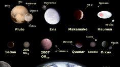 Planetas enanos del Sistema Solar
