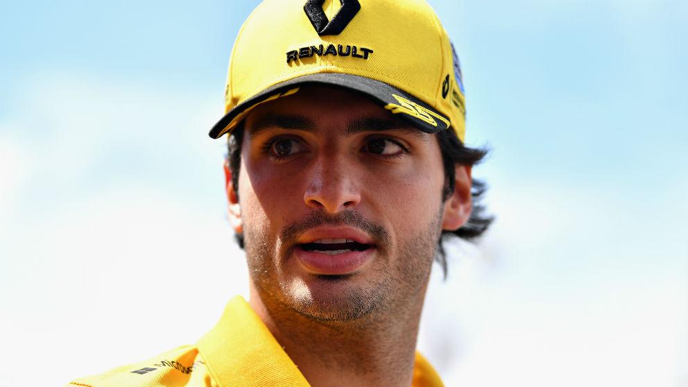El futuro de Carlos Sainz depende directamente de la renovación o no de Daniel Ricciardo por Red Bull. (Getty)