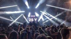 ModeSelektor en el 25 aniversario del festival Sónar Barcelona. Foto: Patricia Nieto