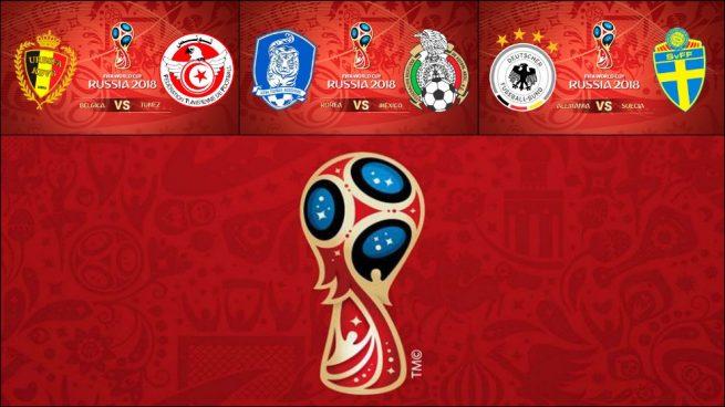 Calendario Mundial 2018: Horario de los partidos de hoy sábado, 23 de junio