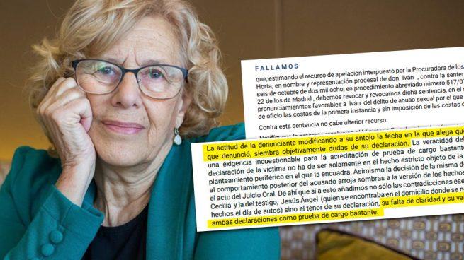 Manuela Carmena y una de sus polémicas sentencias