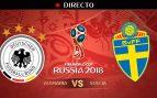 Alemania – Suecia: partido del Mundial 2018 en directo