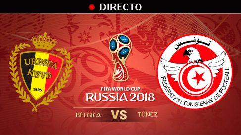 Mundial 2018: Bélgica – Túnez | Mundial de Rusia en directo