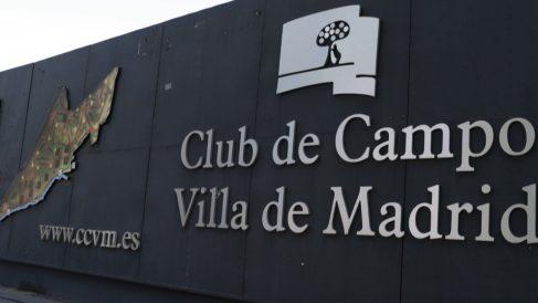 Entrada al Club de Campo Villa de Madrid. (Foto. Madrid)