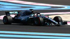 Lewis Hamilton ha dominado de cabo a rabo los entrenamientos en Francia. (AFP)
