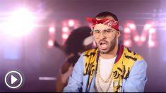 Jesé Rodríguez, con un look pecualiar, en su nuevo videoclip como Jey M.