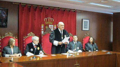 Joaquín Galve, presidente del Tribunal Superior de Justicia de Navarra. (EP)