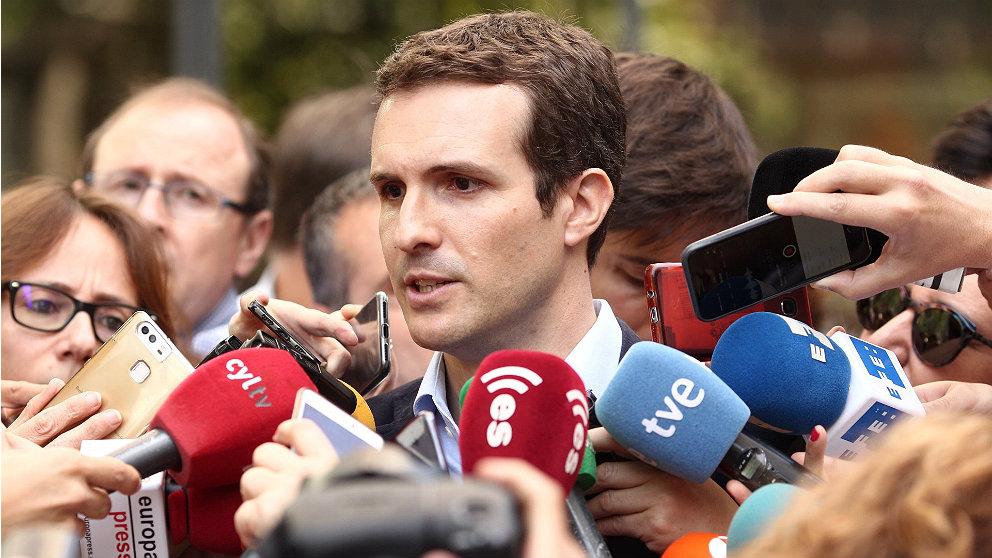 Pablo Casado, diputado del PP. (EP)