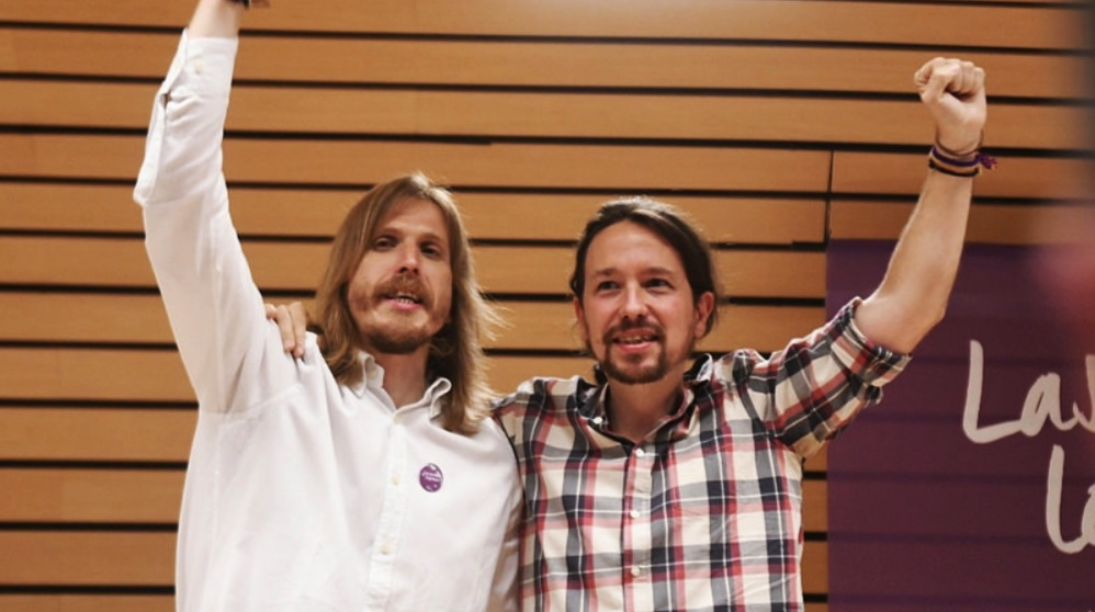 Pablo Fernández y Pablo Iglesias. (Foto. Podemos)