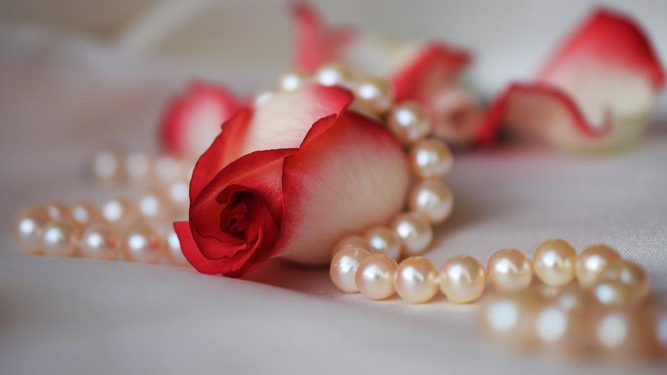 Las perlas rosas son muy apreciadas