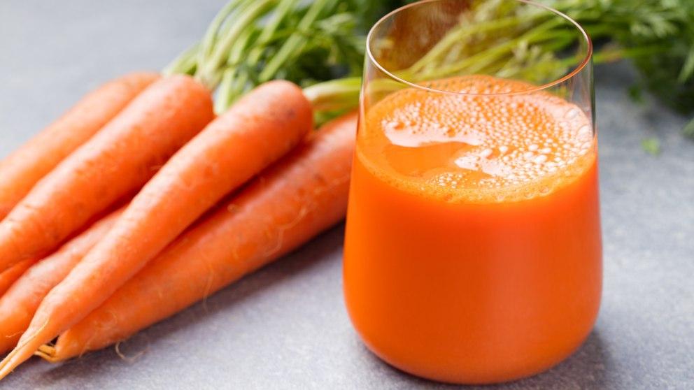 Receta de Zumo de zanahoria