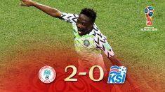 Los goles de Musa dieron la victoria a Nigeria ante Islandia | Mundial 2018