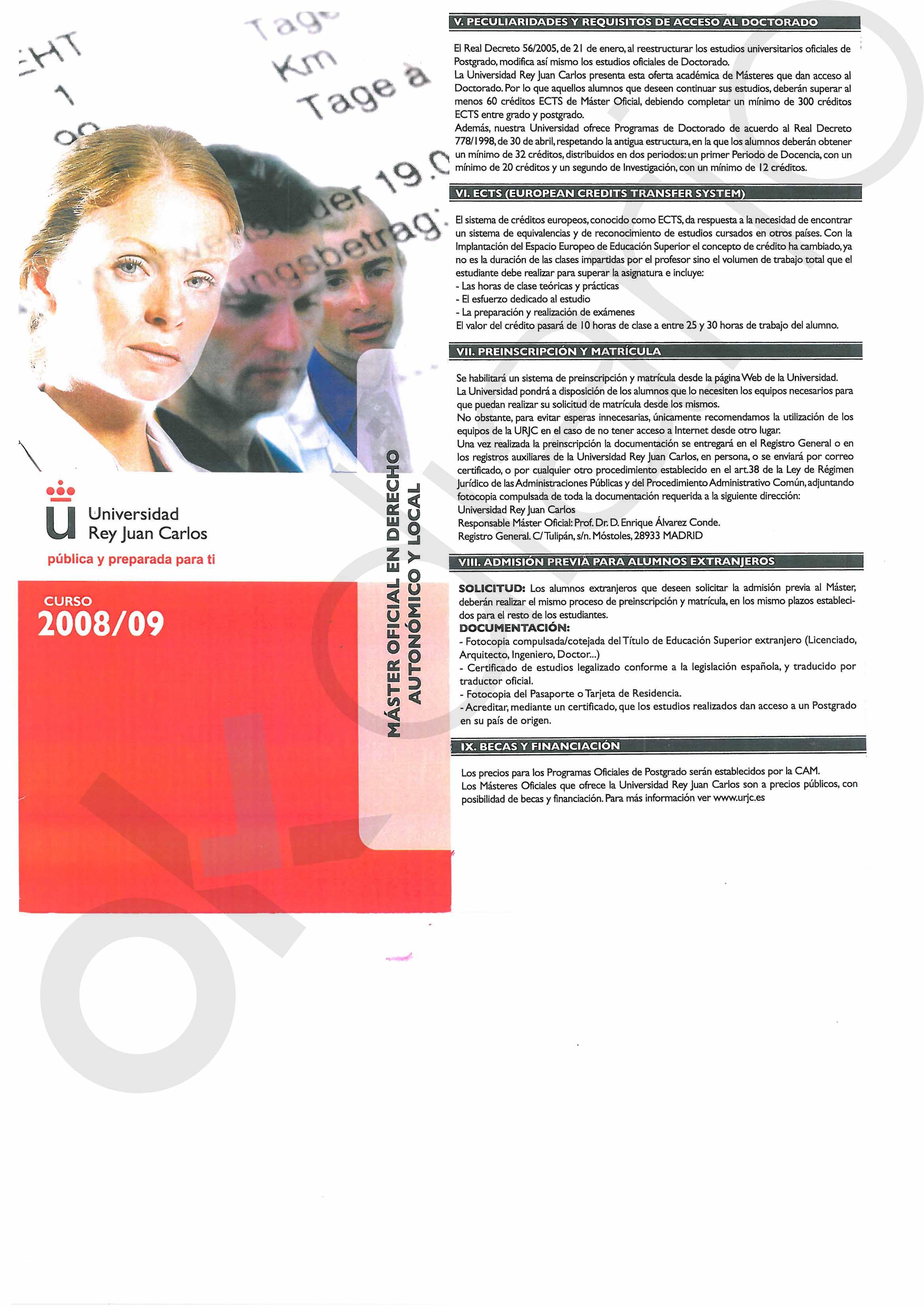 Los documentos del máster de Casado prueban que también cumplió la norma de convalidación de la URJC