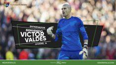 Víctor Valdés se muda a Madrid para trabajar con el E.D. Moratalaz.