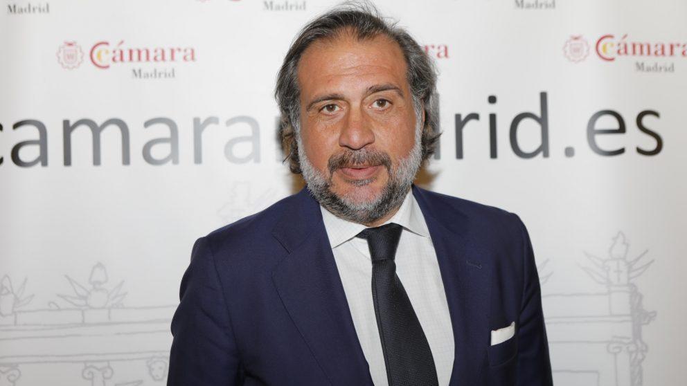 Ángel Asensio, presidente de la Cámara de Comercio de Madrid.