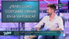 Alejandro Albalá en el PoliDeluxe en  'Sálvame Deluxe'