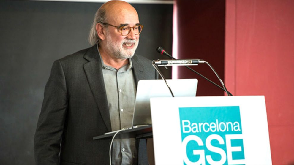 El director del Instituto de Estadística de Cataluña (Idescat),Frederic Udina Abelló.