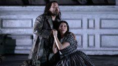 La ópera 'Lucia di Lammermoor' se estrenó este viernes en el Teatro Real. Foto: Javier del Real