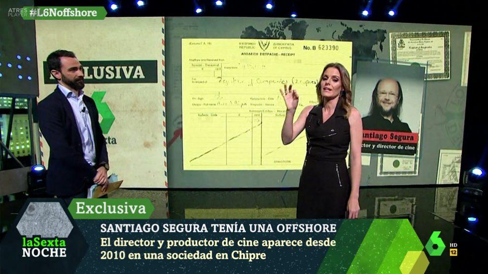 laSexta revela la sociedad offshore de Santiago Segura.