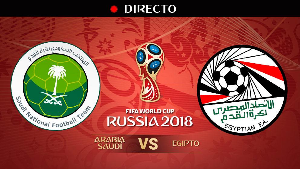 Mundial 2018: Arabia Saudí – Egipto   Mundial de Rusia en directo.