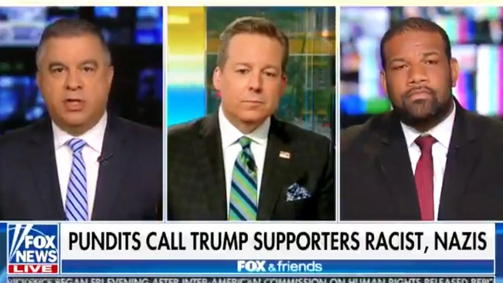 Programa de Fox News con graves insultos racistas.