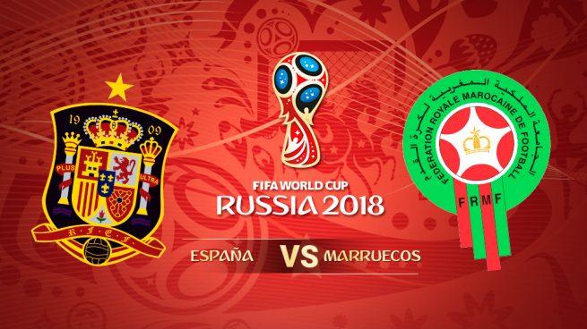 España – Marruecos: Hora y dónde ver en directo a la Selección en el Mundial 2018
