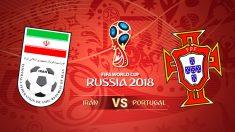 Mundial 2018: Irán -Portugal en el Mundial de Rusia 2018.