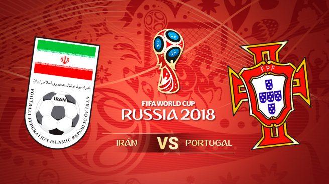 Irán – Portugal: Hora y dónde ver en directo el partido de hoy del Mundial 2018