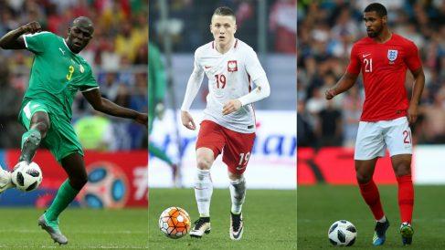 Koulibaly, Zielinski y Loftus-Cheek, jugadores a seguir en el Mundial 2018. (Getty)