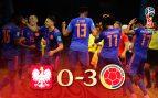 Colombia baila a Polonia y sueña con los octavos (0-3)