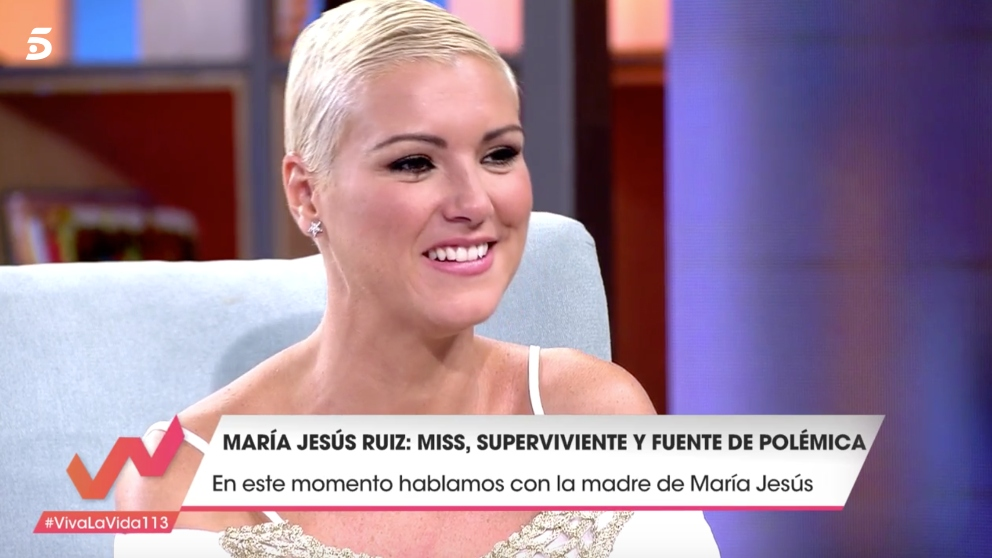 María Jesús Ruiz en 'Viva la vida'