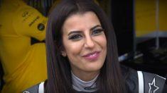 Assel Al Hamad se ha convertido en la primera mujer saudí de la historia que se pone al volante de un monoplaza de Fórmula 1. (Getty)