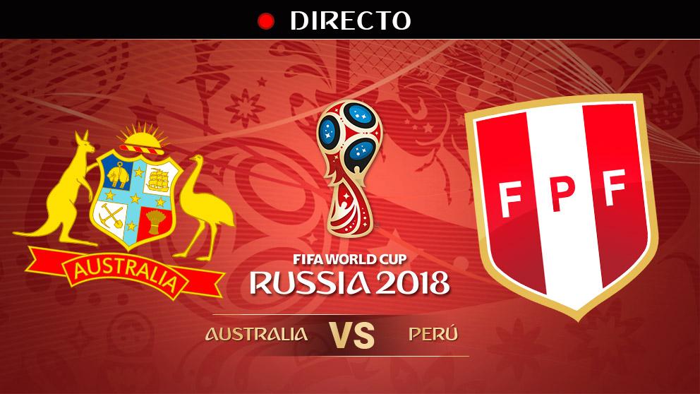 Mundial 2018: Australia – Perú   Mundial de Rusia en directo.