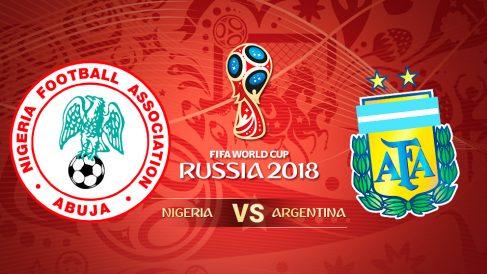 Mundial 2018: Nigeria – Argentina | Partido del Mundial de Rusia.