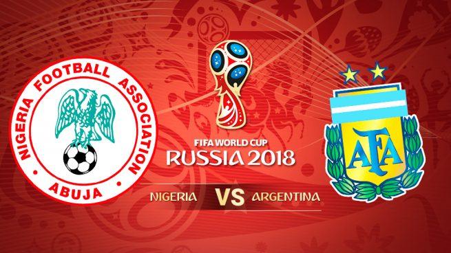 Nigeria – Argentina: Hora y dónde ver hoy el partido del Mundial 2018