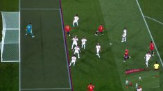 Iago Aspas anotó en posición legal el empate ante Marruecos. | España – Marruecos | Mundial 2018