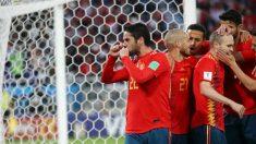 Isco celebra su gol ante Marruecos. (Getty)