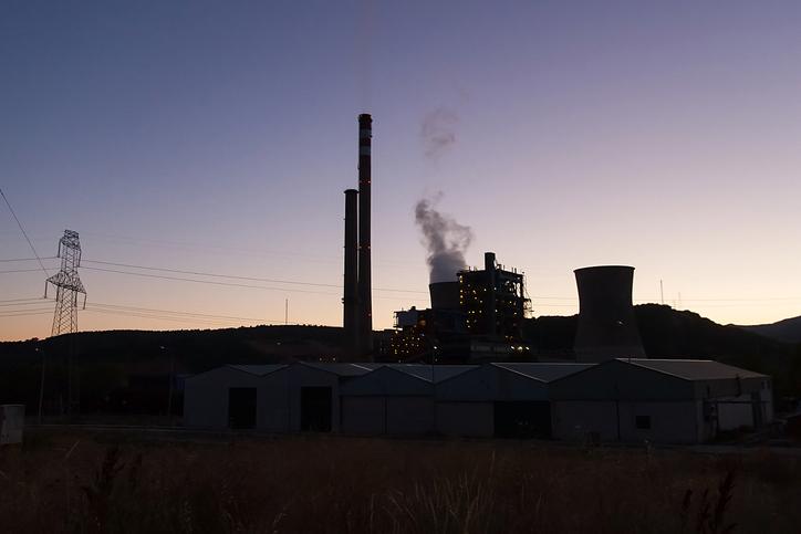 Centrales de carbón (Foto. Istock)