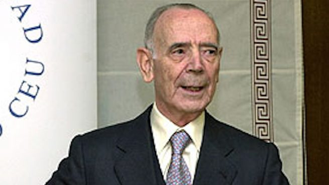 Jesús Cardenal, exfiscal general del Estado.