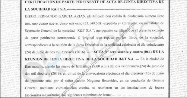 La denuncia por la pérdida de dos cheques de Inassa delata la trama de las comisiones del Canal